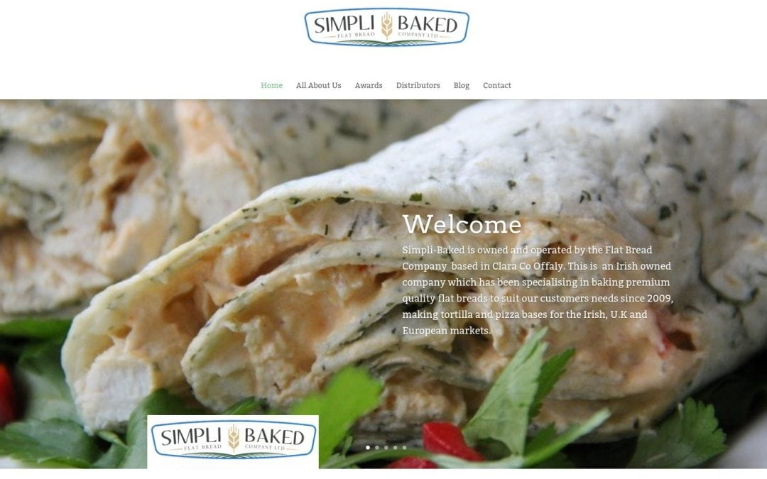 SimpliBaked Website