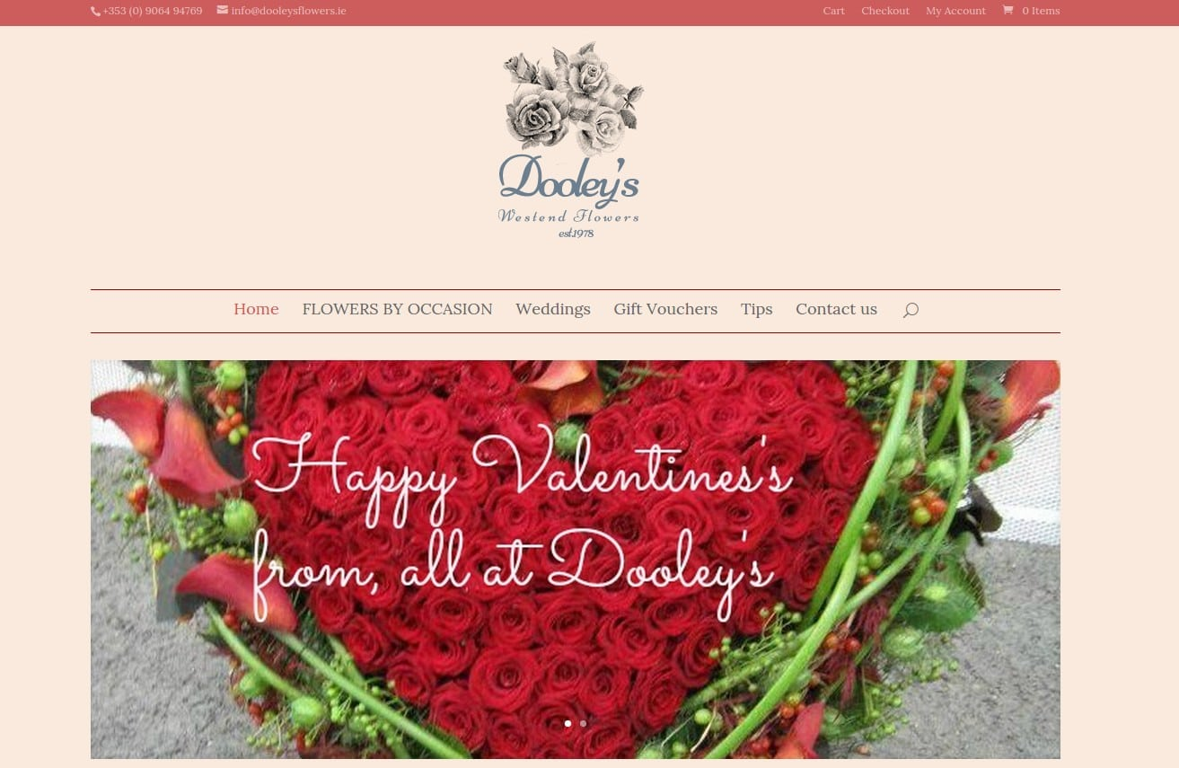 dooleys flowers website