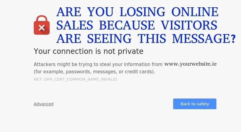 Don't let security issues stop you selling online?