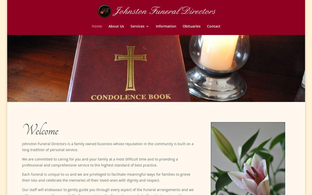 Johnston Funeral Directors Website