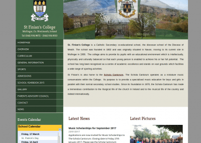 St Finians College Mullingar Website