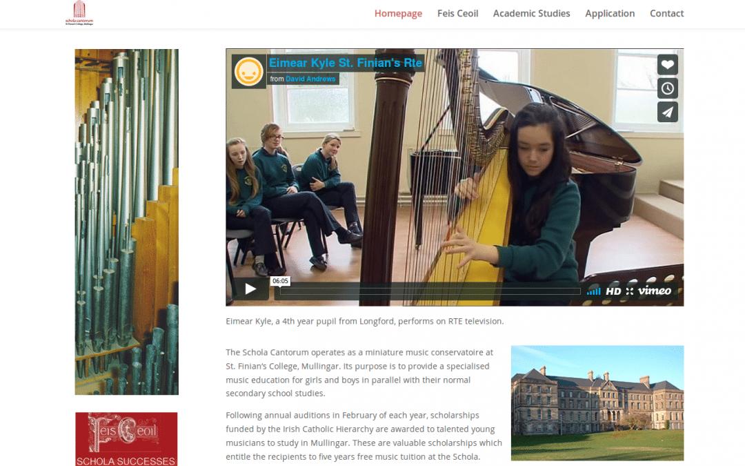 Schola Cantorum , Music College,  Mullingar