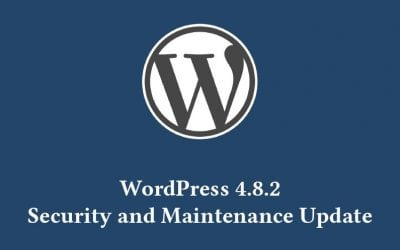 WordPress 4.8.2 Security and Maintenance Update released